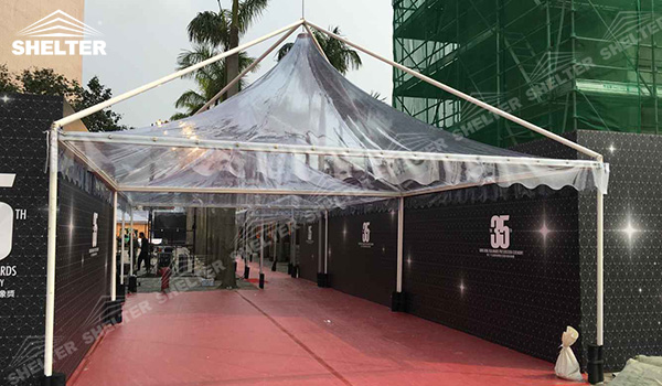 SHELTER Catering Tent - Wedding Hall - Party Marquee - Luxury Reception Tent - Outdoor Catering Venue -197