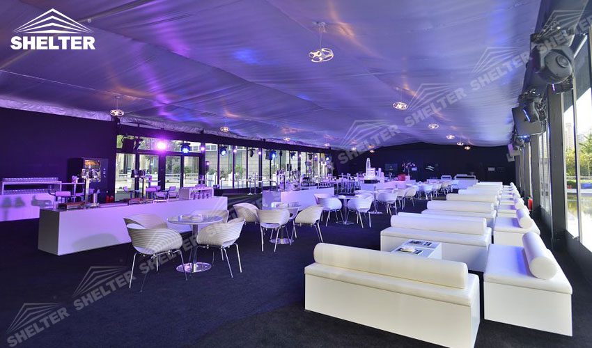 Cube Tent Large Event Marquee Luxury Wedding Tent