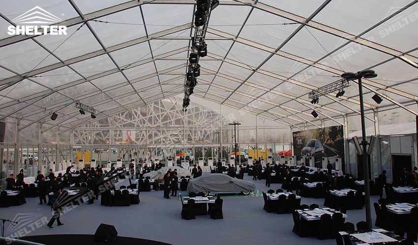 transparent tents - clear tent - large party marquee for sale - luxury wedding tent - event tents - shelter tent-111
