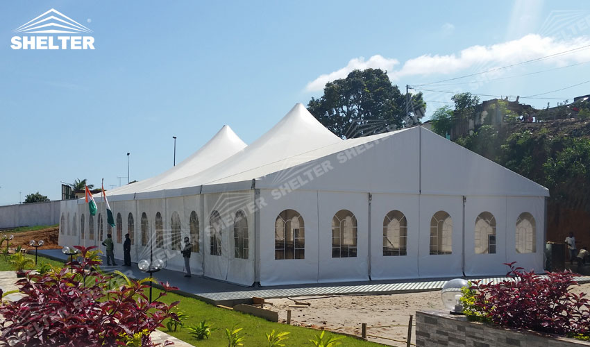 Wedding tents for sale large party marquee luxury for Tent a house