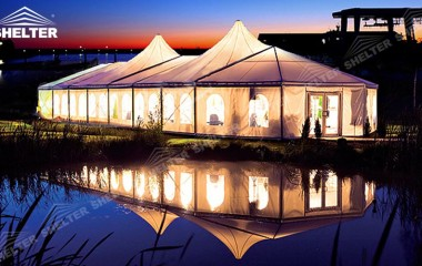 large party tents for sale in pakistan- luxury wedding marquee - event tent - shelter tent-35