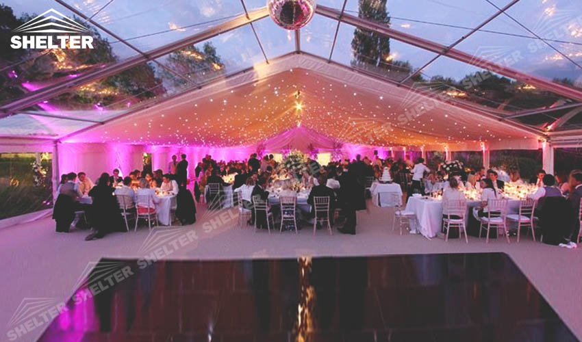 tents for weddings - large party marquee for sale - luxury wedding tent - event tents & Clear Top Tents for Weddings - Party Marquee for Sale