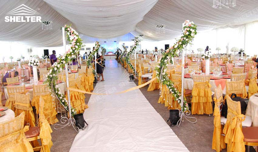 large party marquee for sale - outdoor wedding tent - event tents - shelter tent- & Outdoor Wedding Tent - Outdoor Banquet Hall - Luxury Marriage Tent