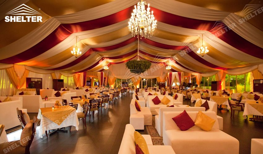 white marquee - large party marquee for sale - luxury wedding tent - event tents - shelter tent-76