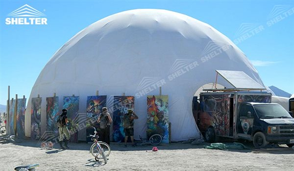 SHELTER Dome Tents for Sale - Geodesic Domes - Dome Tent - Hemisphere Tents - Event Geodome for Sale - Wedding Marquee - Party Marquees -122