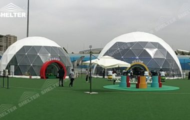 luxury wedding dome - geodomes tent geodesic dome tent for kids festival Shelter tent (15)