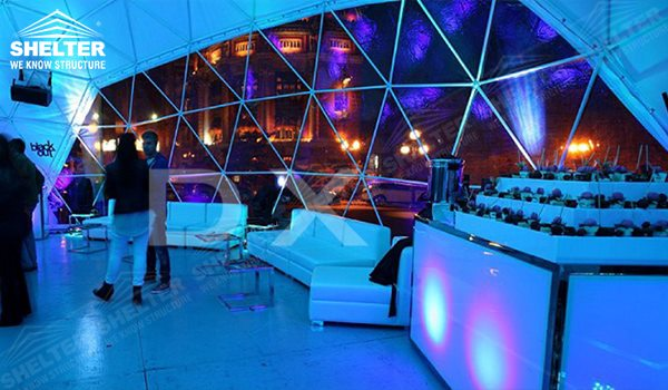 SHELTER Geodesic Domes - Dome Tent - Hemisphere Tents - Event Geodome for Sale - Wedding Marquee - Party Marquees -24