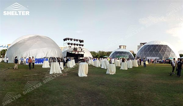 SHELTER Geodesic Domes - Dome Tents - Hemisphere Tents - Event Geodome for Sale - Wedding & Geodesic Domes for Sale - Geodomes - Luxury Wedding Tent