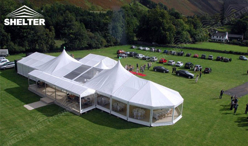 big tents - SHELTER luxury wedding marquee party tents for sale wedding tent decorations 23