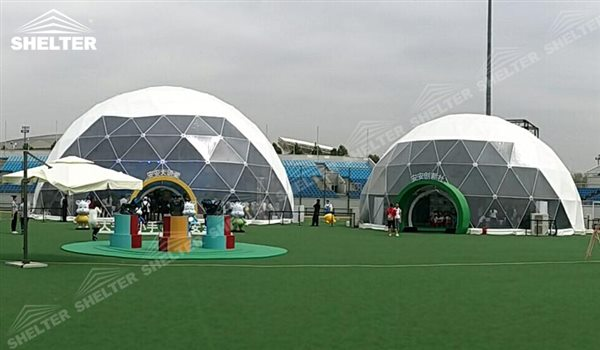 geodomes tent geodesic dome tent for kids festival Shelter tent (17)