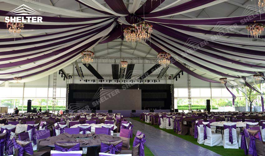 luxury wedding tent for sale - large party marquee - event tents - shelter tent- & Wedding Tent for Sale 2500 sqm - 1500 Seater Luxury Marriage Tent ...