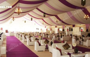 SHELTER Wedding tent house  Hall - Party Marquee - Luxury Reception Tent - Outdoor Catering Venue -181