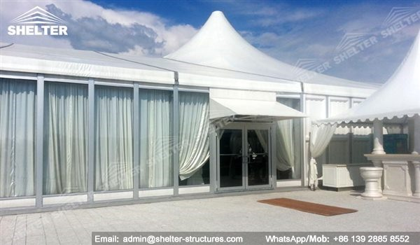 German Structures Wedding Hall Tent House Supplier