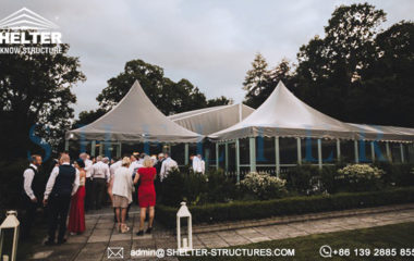 Shelter Custom Tent Design for Wedding - Marquees for Wedding Banquet Hall - Multi-application Fabricated Structure From Shelter -18