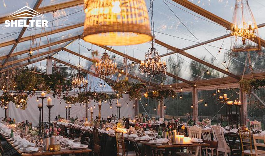 Outdoor Wedding Venue with Luxury Decoration - Wedding ...