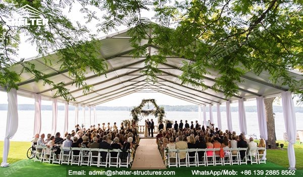 SHELTER Wedding Hall - Party Marquee - Luxury Reception ...